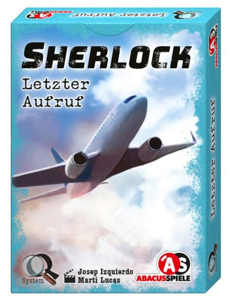 Sherlock - Letzter Aufruf - Krimi-Spiel