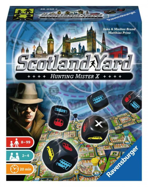 Scotland Yard Würfelspiel