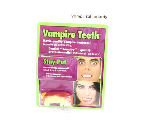 Vampir Zähne - Lady