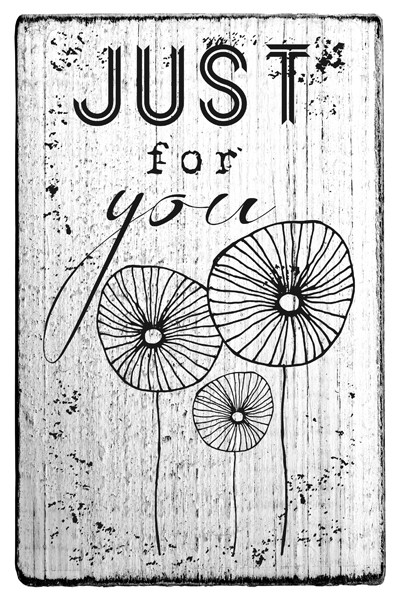 Stempel im Vintage Look - Just for you