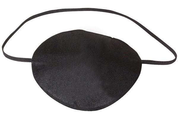 Schwarze Piraten Augenklappe