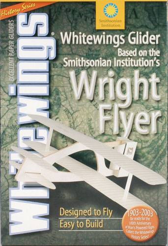 Whitewings Wright Flyer - 1 Papier Flieger