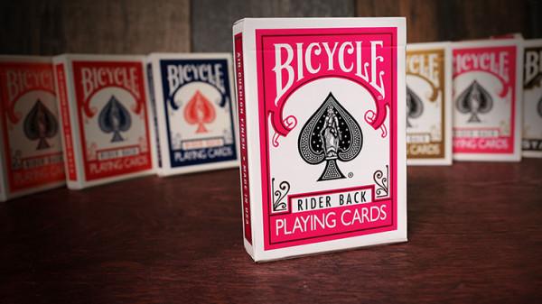 Bicycle Karten - Rider Back - Pink