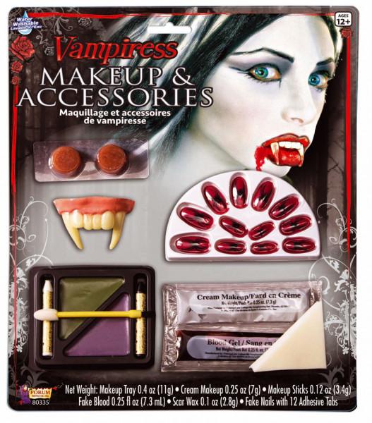 Schmink-Kit - weiblicher Vampir - Vampiress