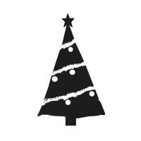 Ministempel Tannenbaum