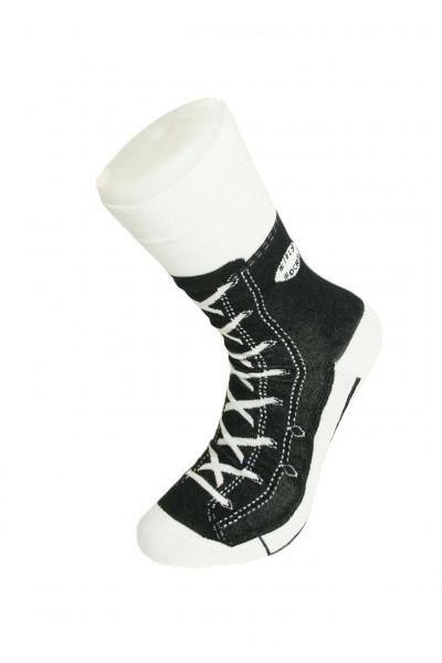 Sneaker Socken schwarz