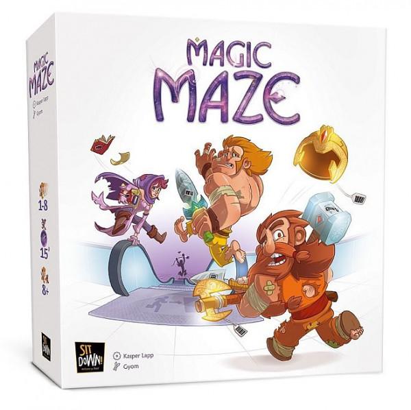 Magic Maze - kooperative Echtzeitspiel