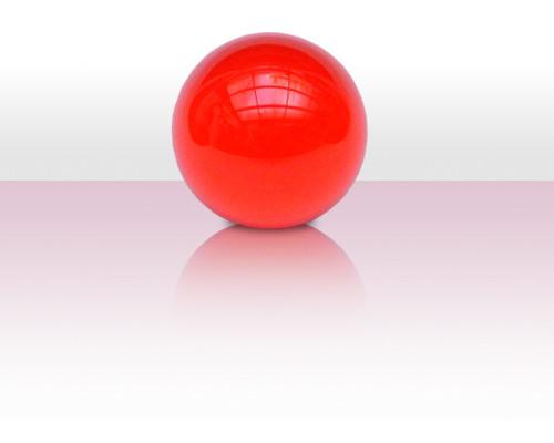Acrylball 76mm - rot