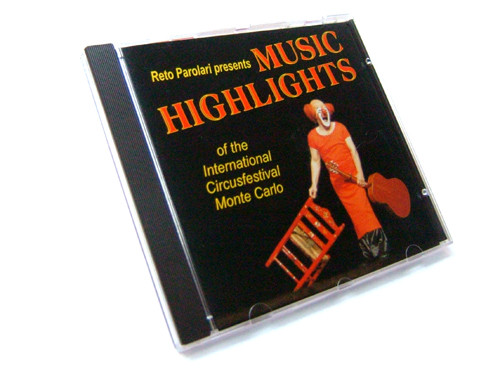 CD Music Highlights of the Circusfestival Monte Carlo