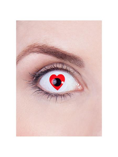Herz - Effekt Kontaktlinsen