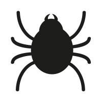 Ministempel Spinne