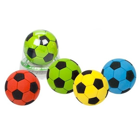 Fussball Radiergummi