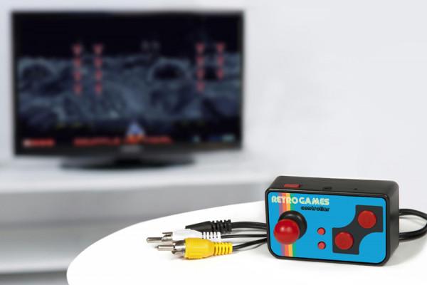 Mini Konsole mit 200 Retro Spielen für den TV