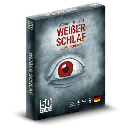 50 clues - 2/3 Weisser Schlaf