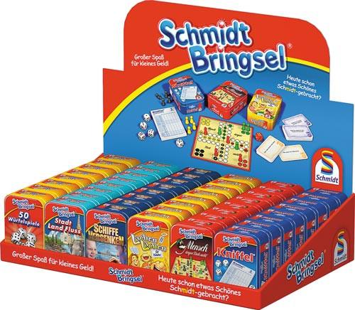 Mini Spiele in der Dose - Ideales Geschenk für den Adventskalender