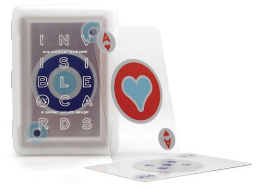 Playing Cards Invisible - Durchsichtige Jasskarten