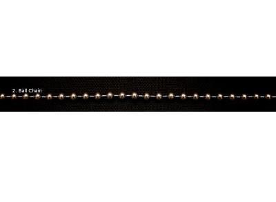 Kugelkette 8mm - per Meter