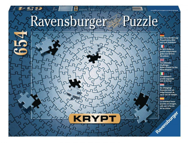 Puzzle Krypt Silber - 654 Teile