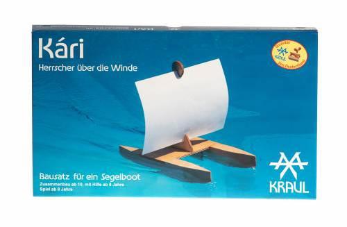 Kari Bausatz Segelboot