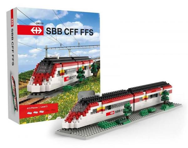 Brixies SBB Zug - 413 Teile - Level 3
