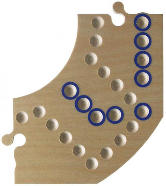 Brändi Dog - einzelnes Segment - blau
