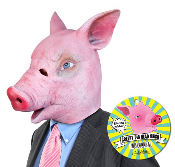 Schweinemaske - Creepy Pig Mask