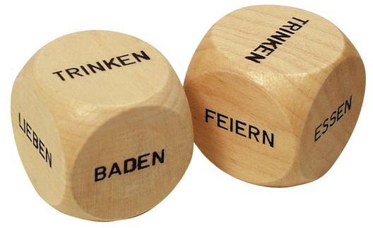 Entscheidungswürfel aus Holz - Was tun?