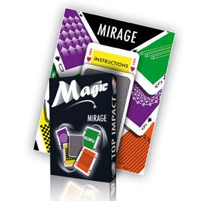 Mirage-Karten mit DVD