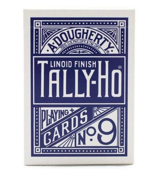 Cardistry Karten - Tally-Ho Circle Back Blau