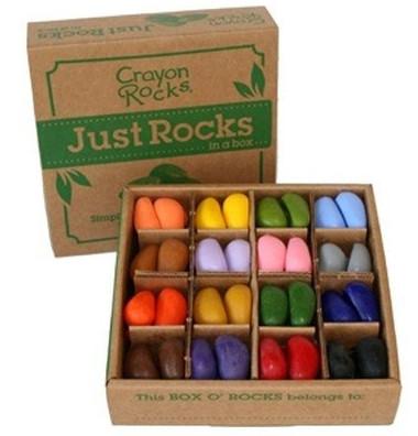Crayon Rocks - Just Rocks in a Box mit 4x16 Farben