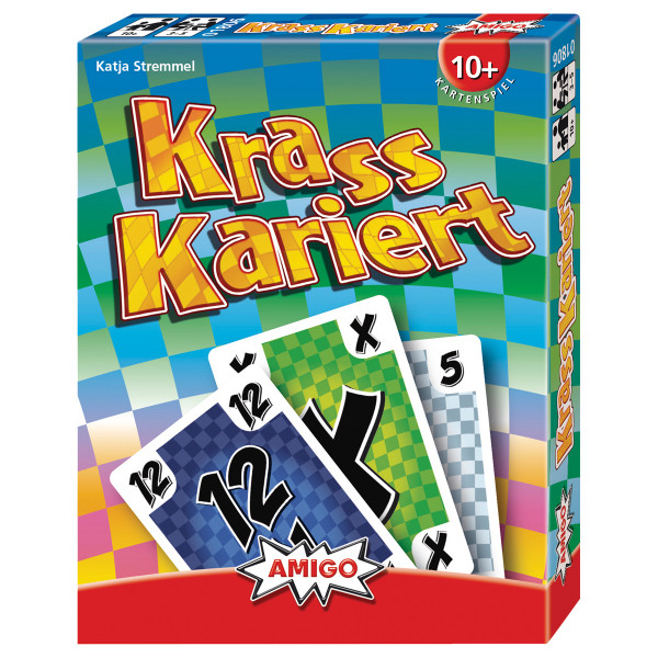 Krass Kariert, Kartenspiel