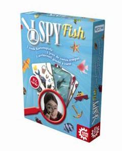I spy Fish - Kartenspass Angeln, Schnapp und Memo