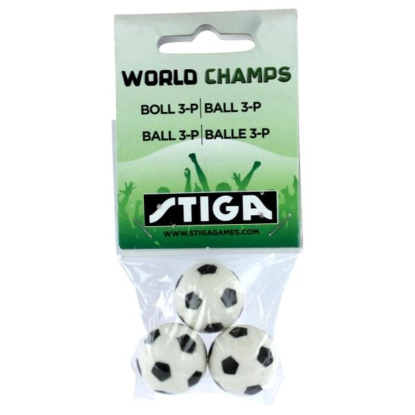 Ersatzball Stiga World Champ Fussball 3 Stück