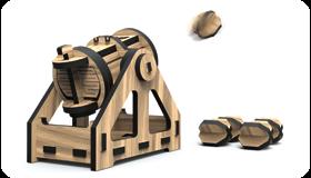 WoodHeroes Bombarde- Holz-Bausatz