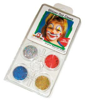 Eulenspiegel Effekt-Glitzer - Sujet Clown