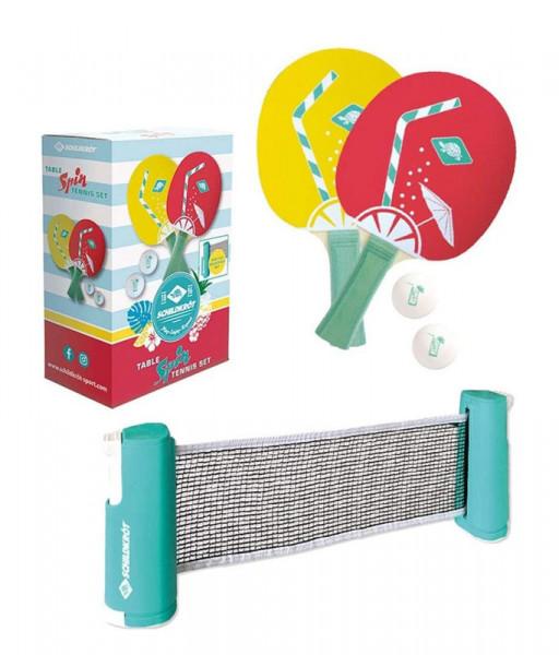 Tischtennis Komplettset Spin mit Netz