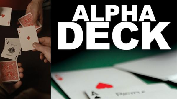 Trickkarten - Bicycle Alpha Deck von Richard Sanders