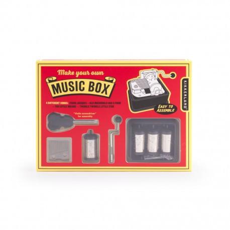 Make Your Own Music Box zum Selberbauen