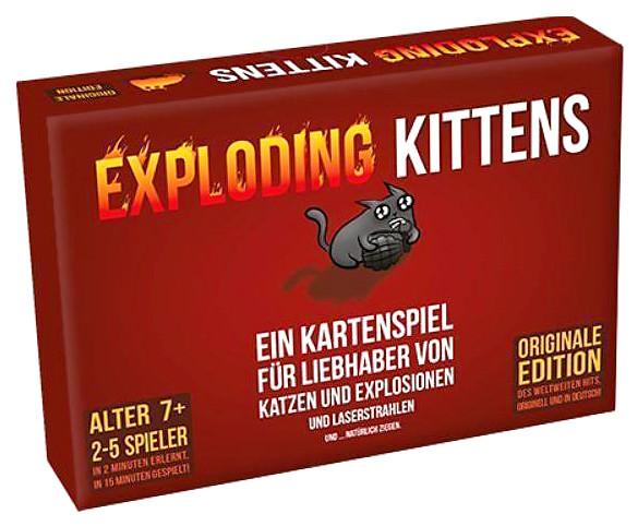 Exploding Kittens - Das Kartenspiel