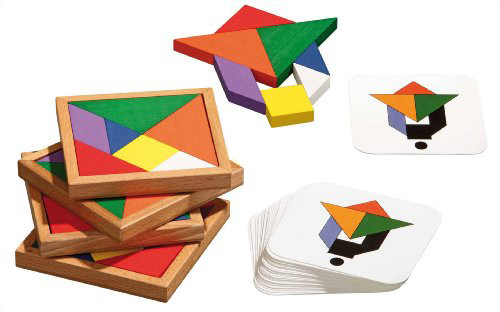 Speed Tangram - das Kombinationsspiel