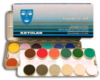 Aquacolor 24er-Palette Blech