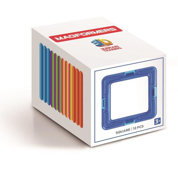 Magformers Square Eränzungsset mit 12 Quadraten