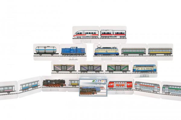 Höchste Eisenbahn - ein rasend schnelles Zugspiel