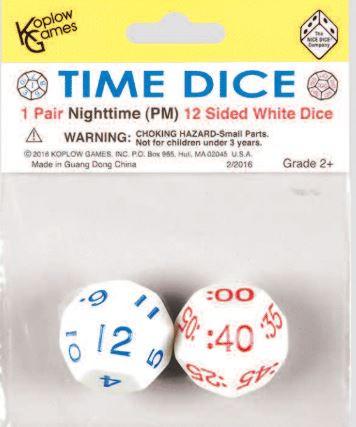 Time Dice - Zeit Würfel