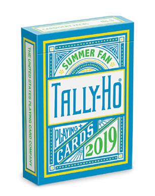 Cardistry Karten - Tally-Ho Fan Back Summer Edition