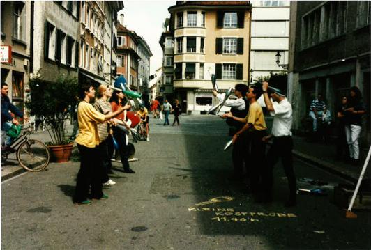 Jonglieren Steinberggasse