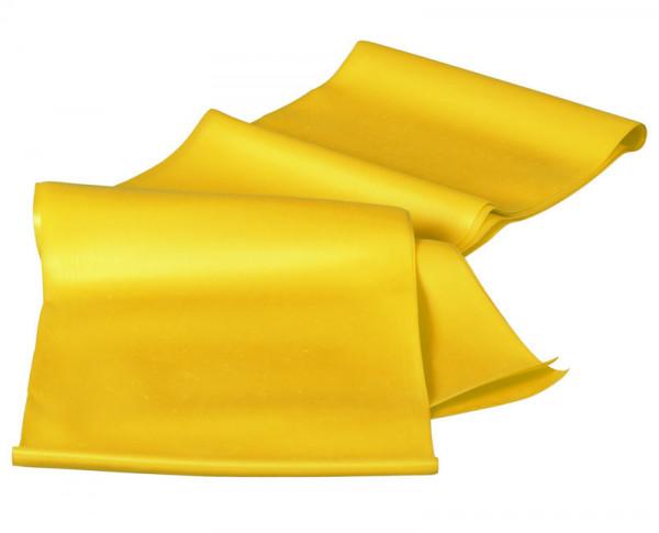 Gymnastikband, 2m, leicht, gelb
