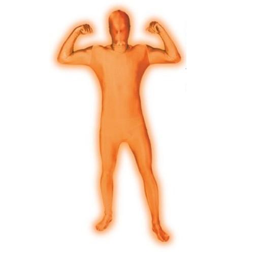 Ganzkörperkostüm Morphsuits - orange GLOW (XXL)