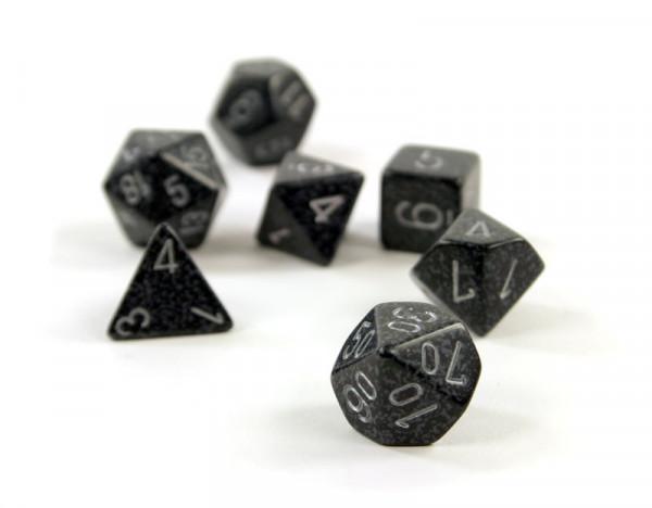 Speckled Polyhedral Ninja 7-er Set