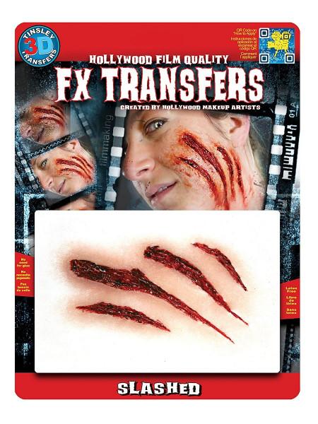 Kratzwunde 3D FX Transfers - Spezialeffekt